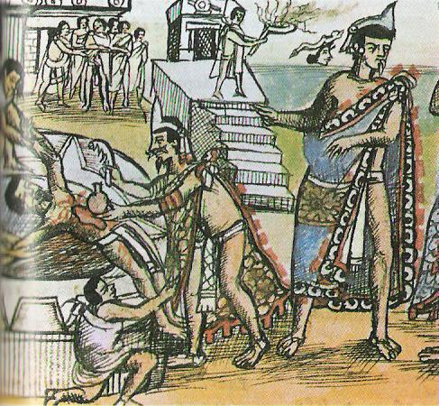 a glimpse at the human sacrifices of the aztec people