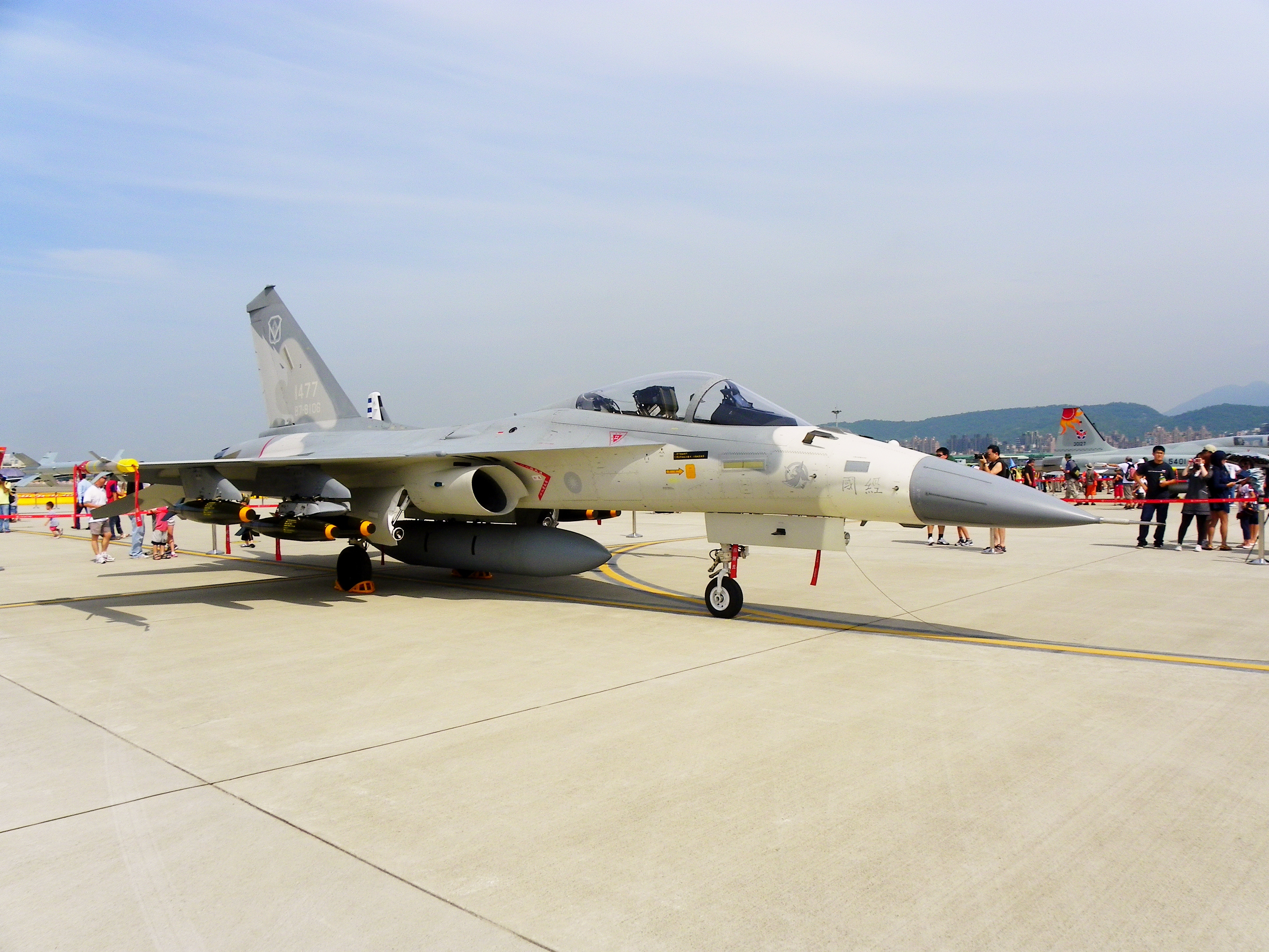 http://upload.wikimedia.org/wikipedia/commons/a/a8/IDF_F-CK-1_Display_in_ROCAF_Songshan_Air_Force_Base_20110813a.jpg