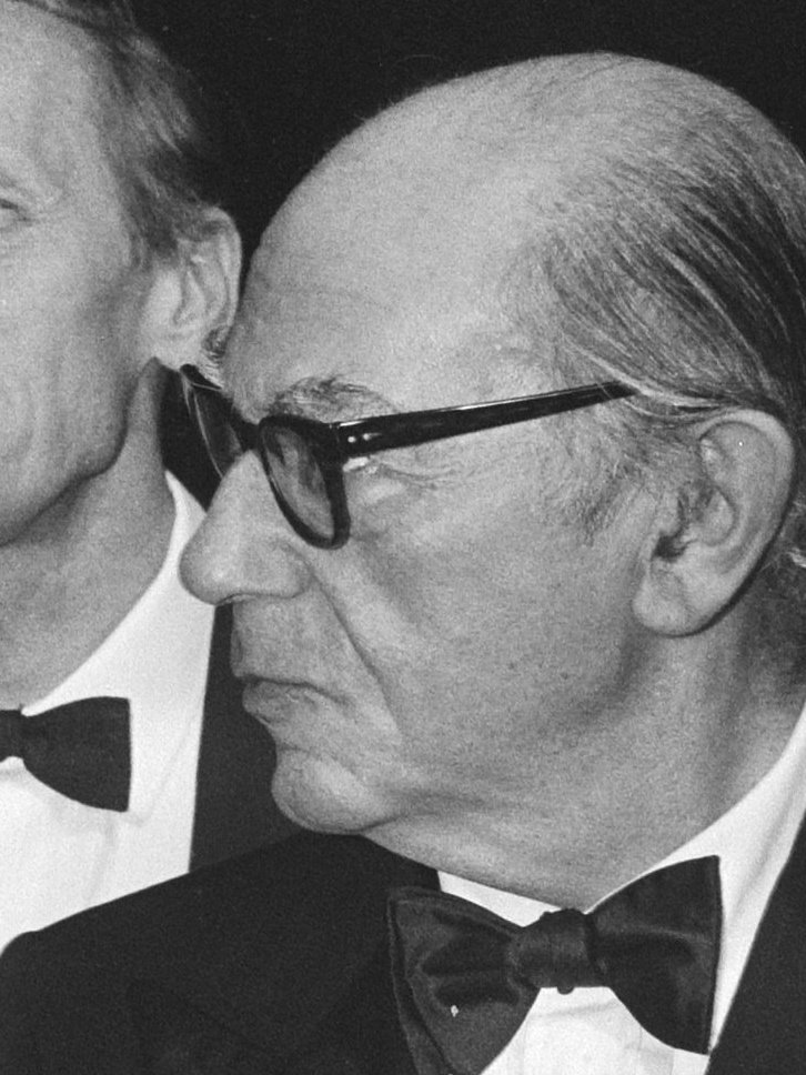 Isaiah Berlin during the reception of the Erasmus Prize, Oct. 1983