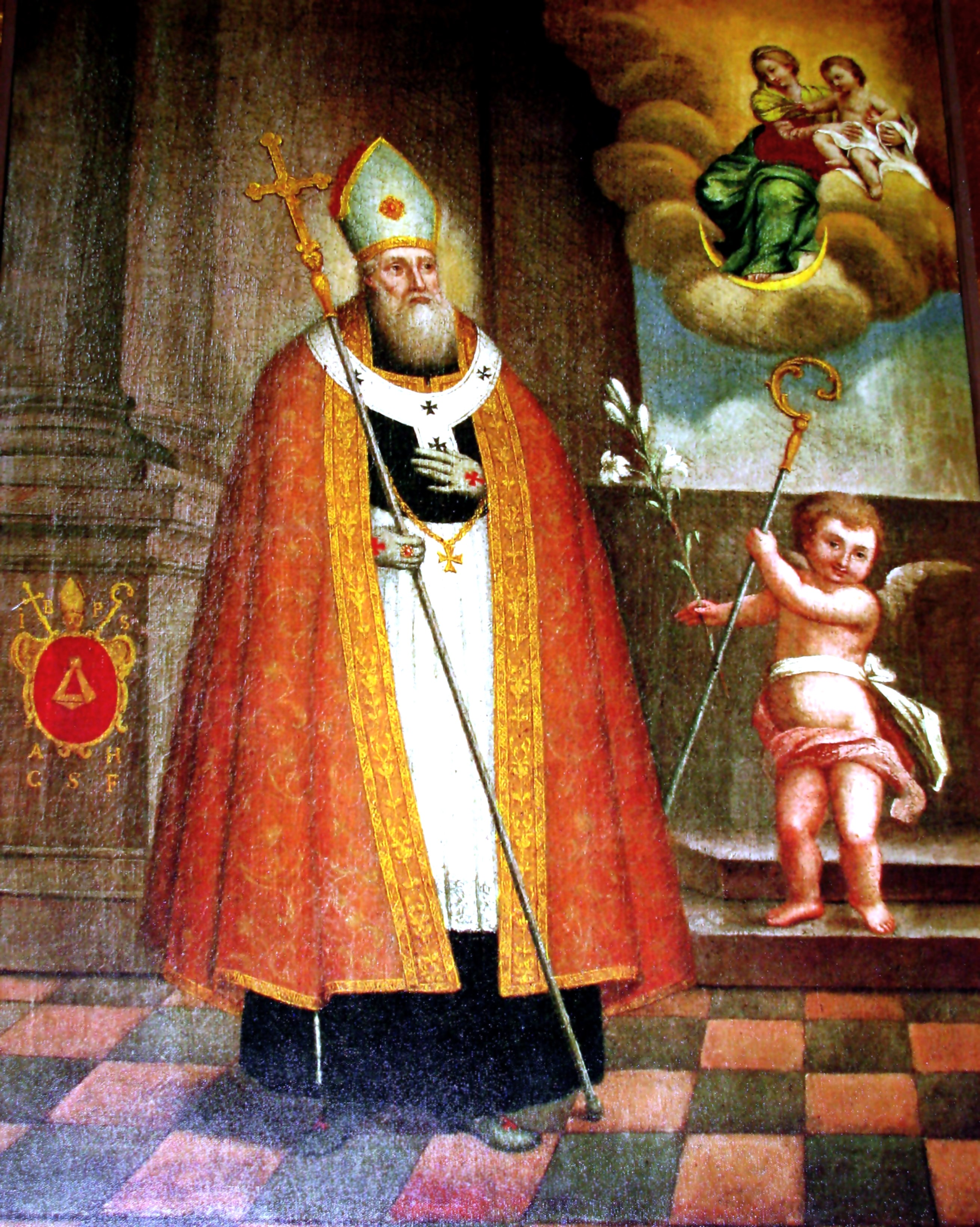 Bilde i kirken Kalwaria Pacławska