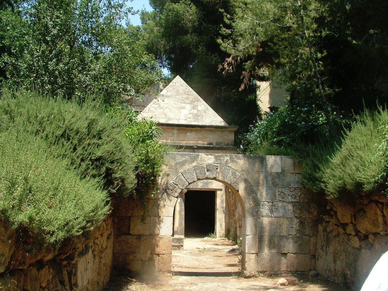 Jason's Tomb in Jerusalem