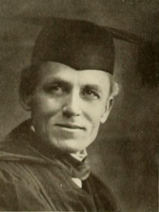 Kilgo pictured in ''The Chanticleer 1912'', Duke yearbook