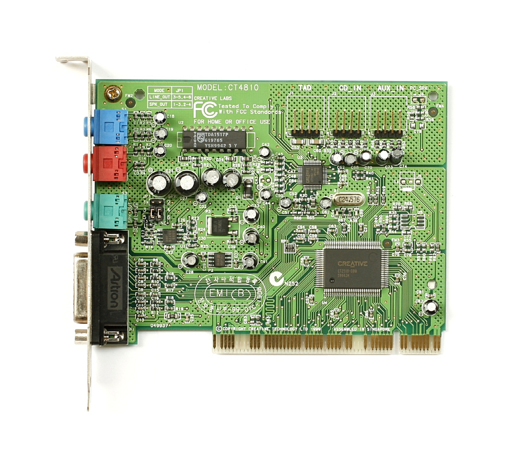 Creative Labs Ct4810 Driver