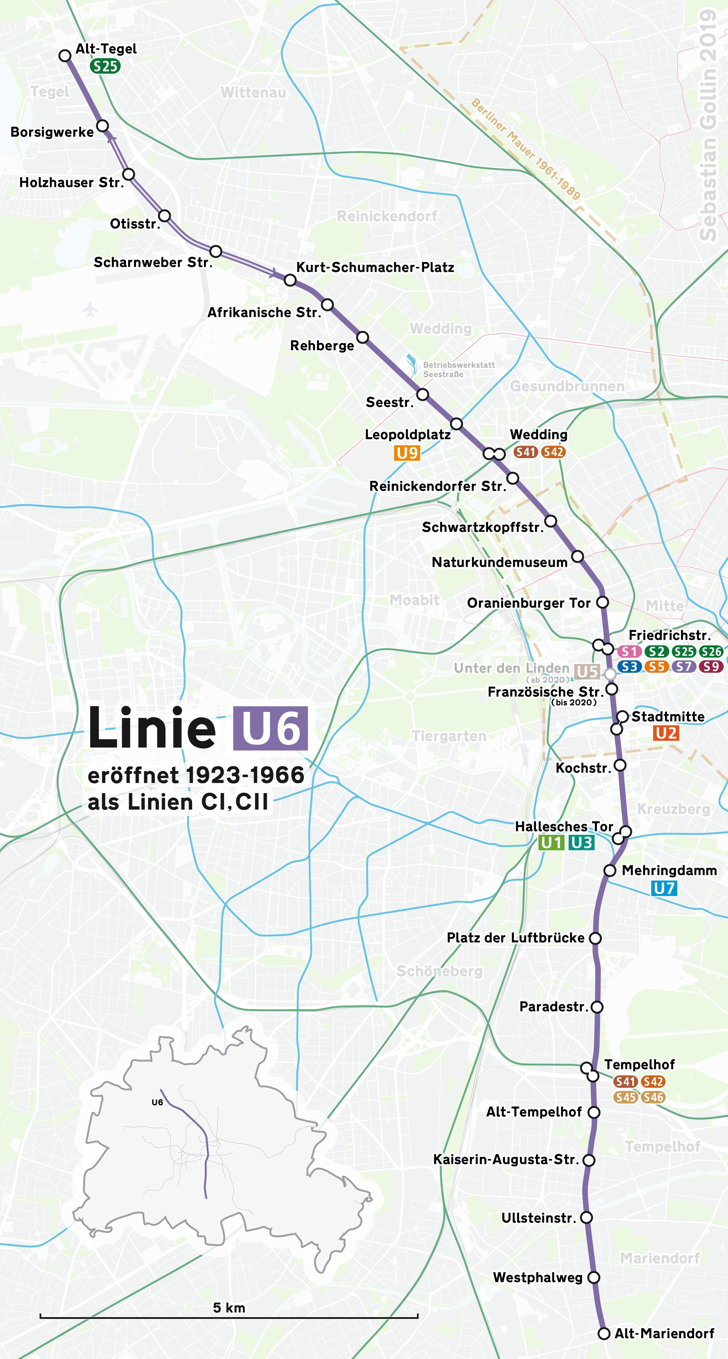U Bahn Linie 6 Berlin Wikipedia