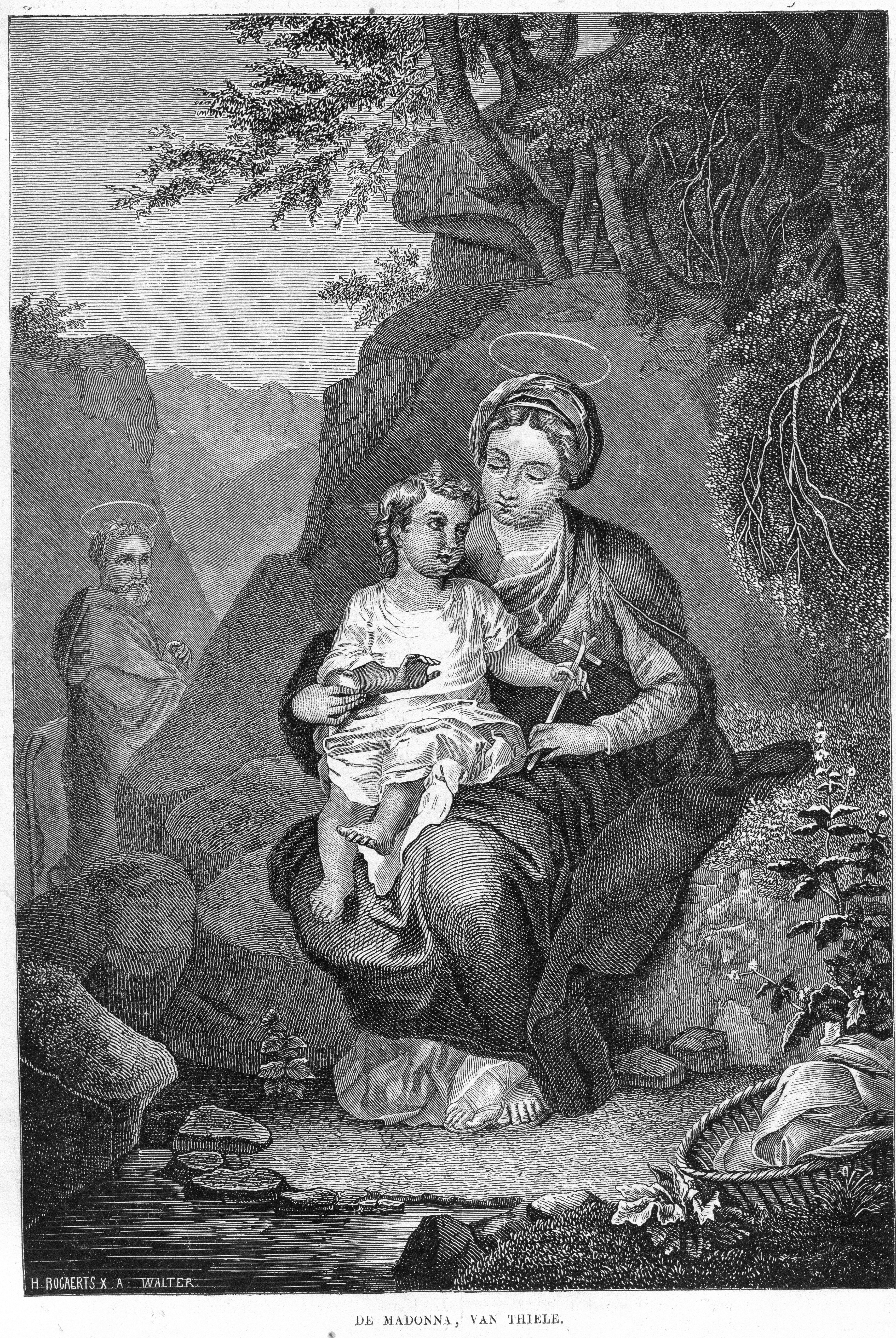 3efadefe9b02 File Katholieke Illustratie 1869-1870 nr 19 p.152 De Madonna