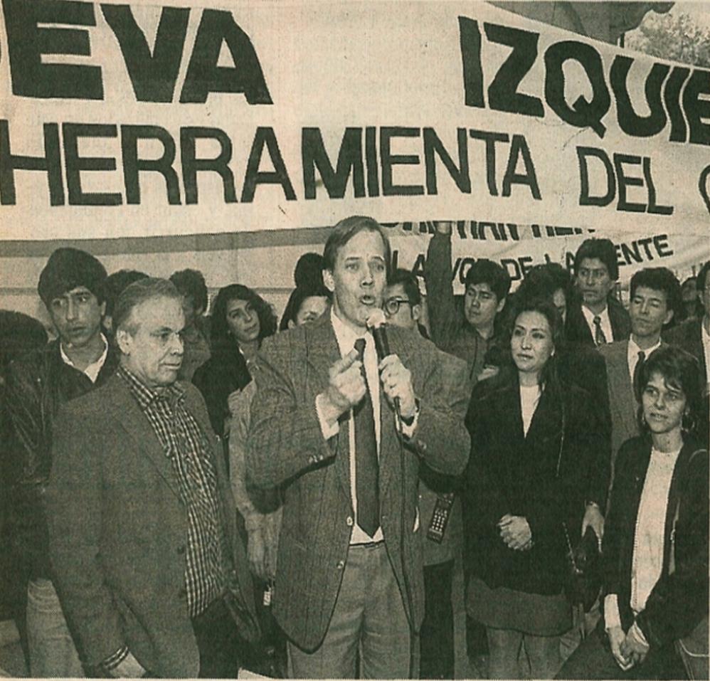 Depiction of La Nueva Izquierda