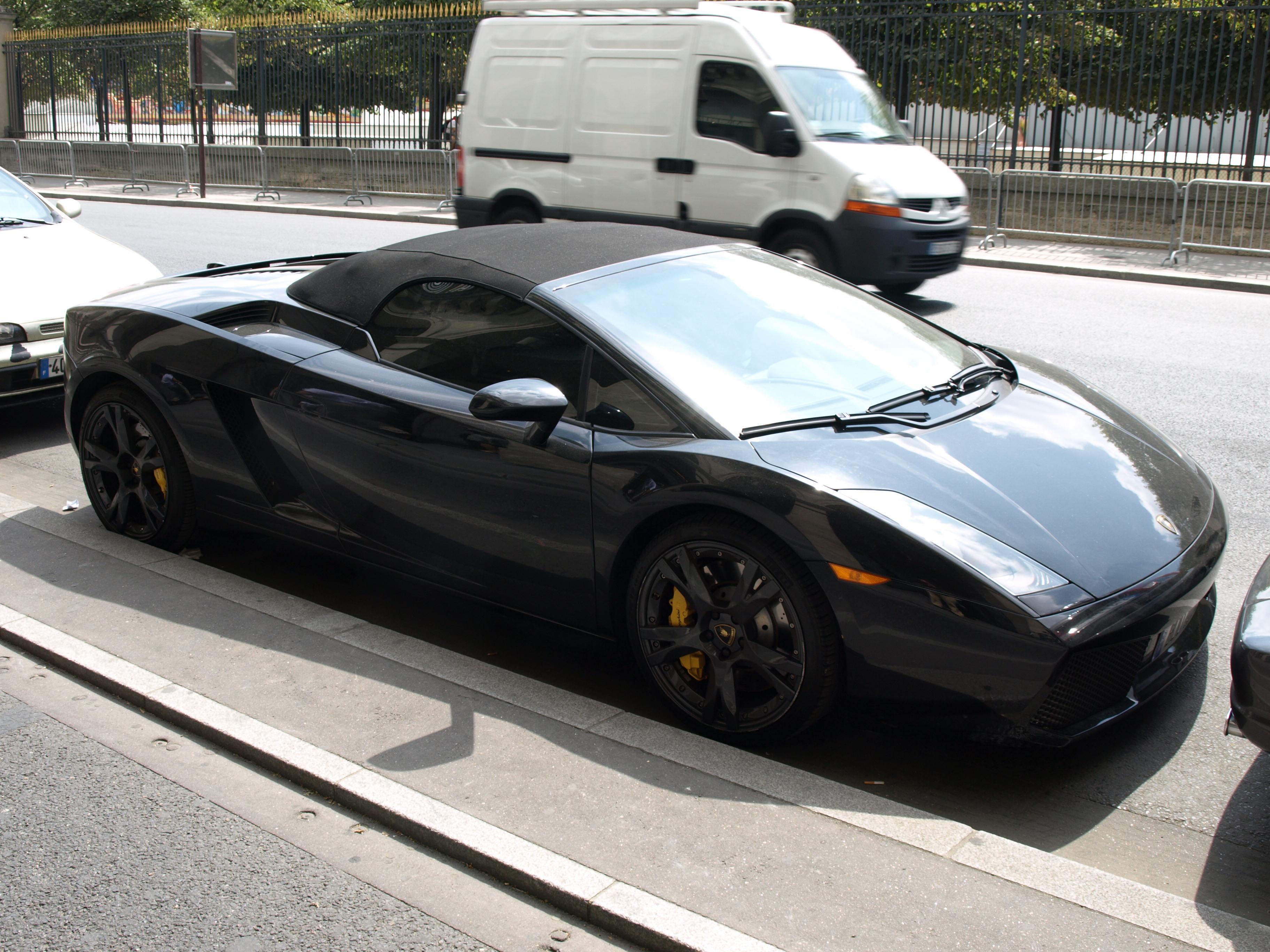File:Lamborghini Gallardo Spyder (front).JPG