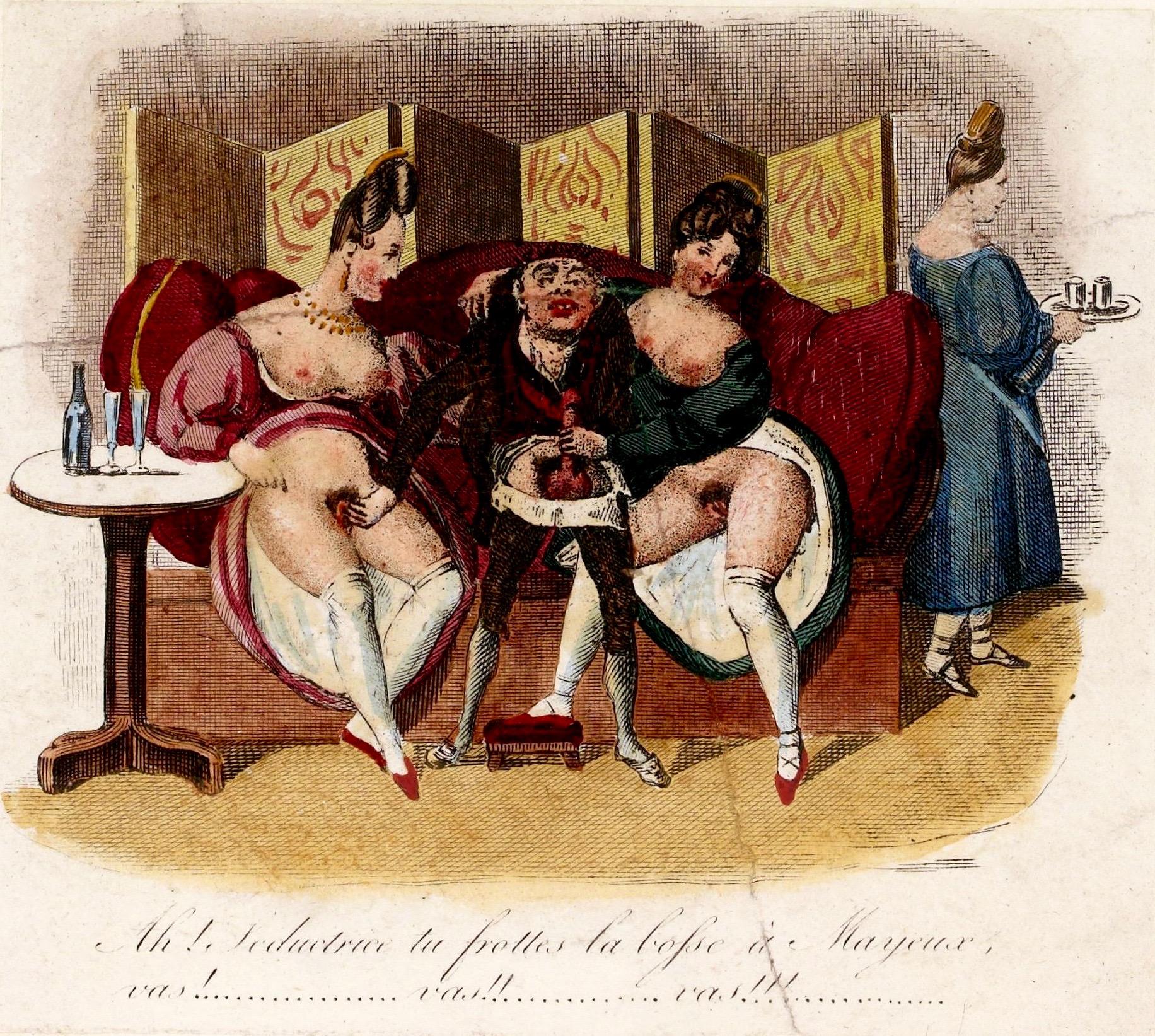 File Les Douze Journees Erotiques De Mayeux 1830 Figure 7 Jpg Wikimedia Commons