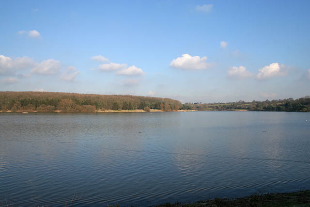 Looking towards the northeast arm of Thornton Reservoir - geograph.org.uk - 331921