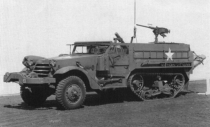 M21 Mortar Motor Carriage Wikipedia