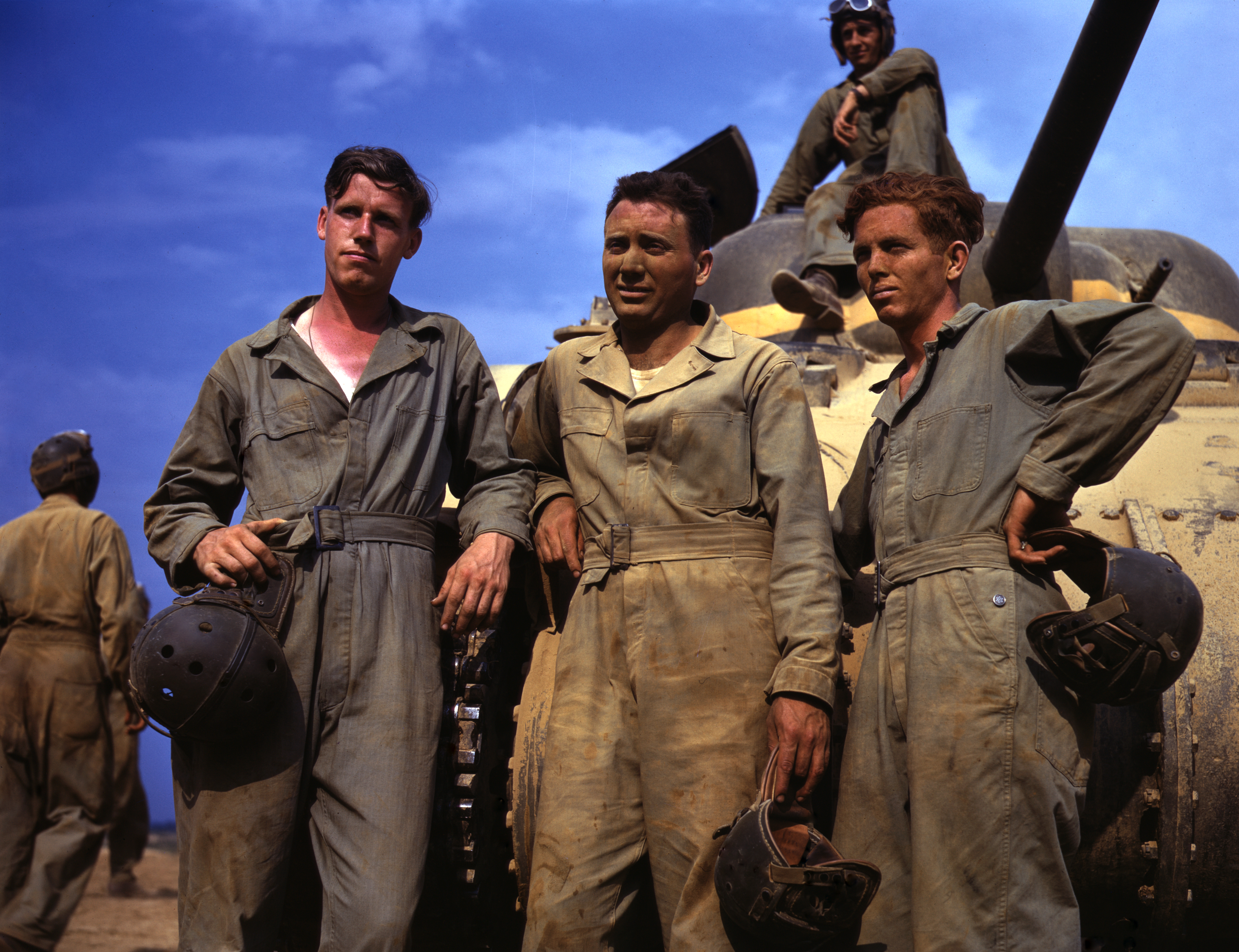 Sherman crew