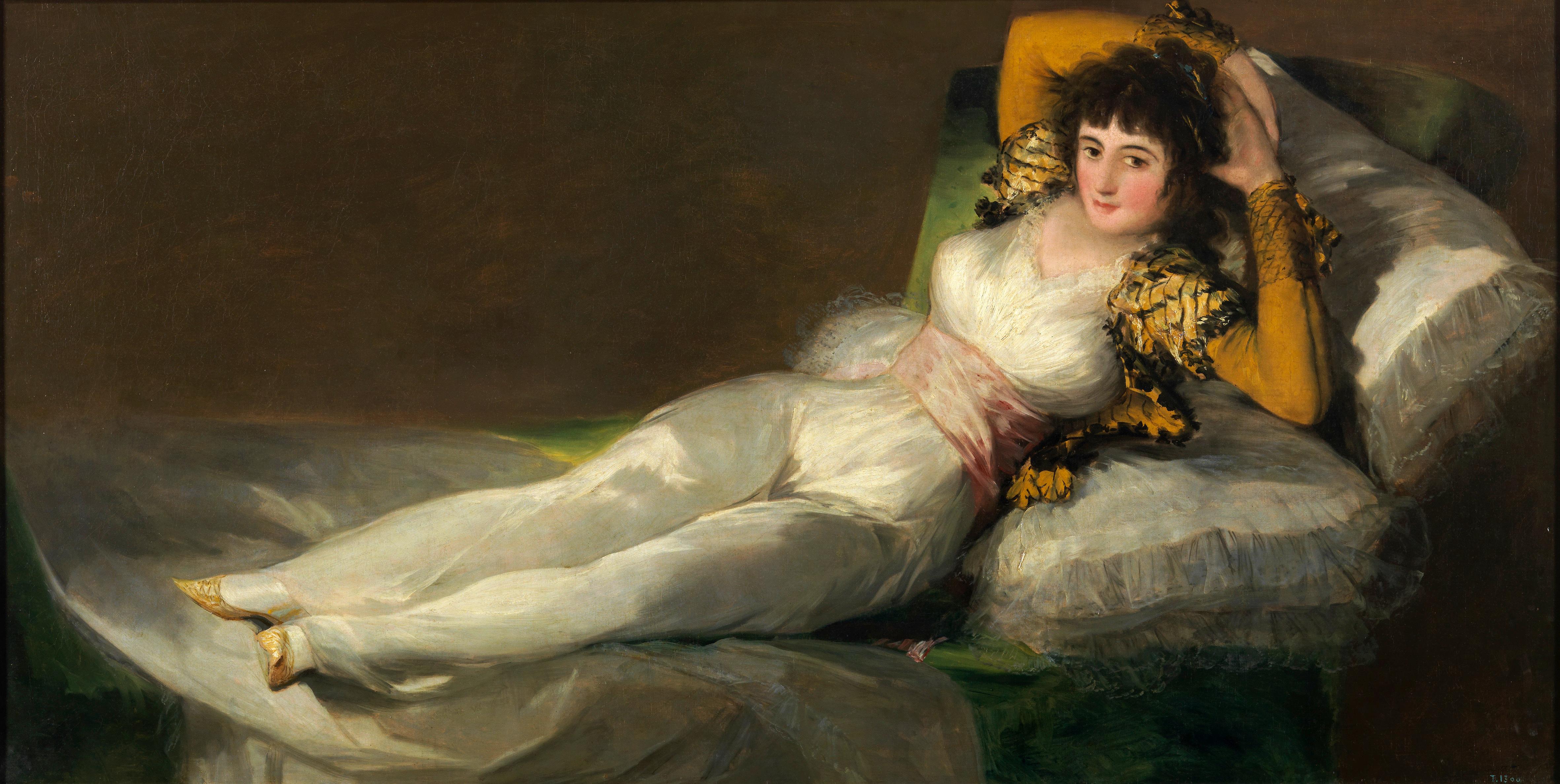 La maja desnuda - Coleccin - Museo Nacional del Prado