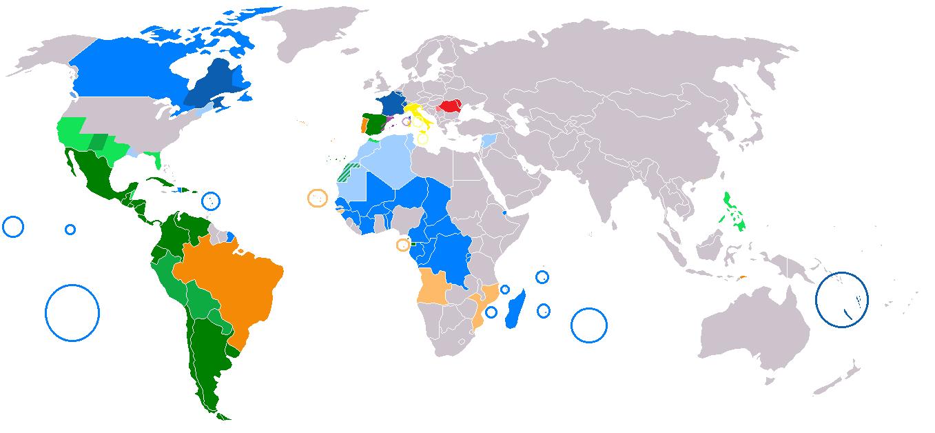 Die Welt der romanischen Sprachen