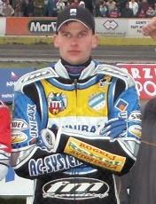 Matej Žagar Slovenian speedway racer