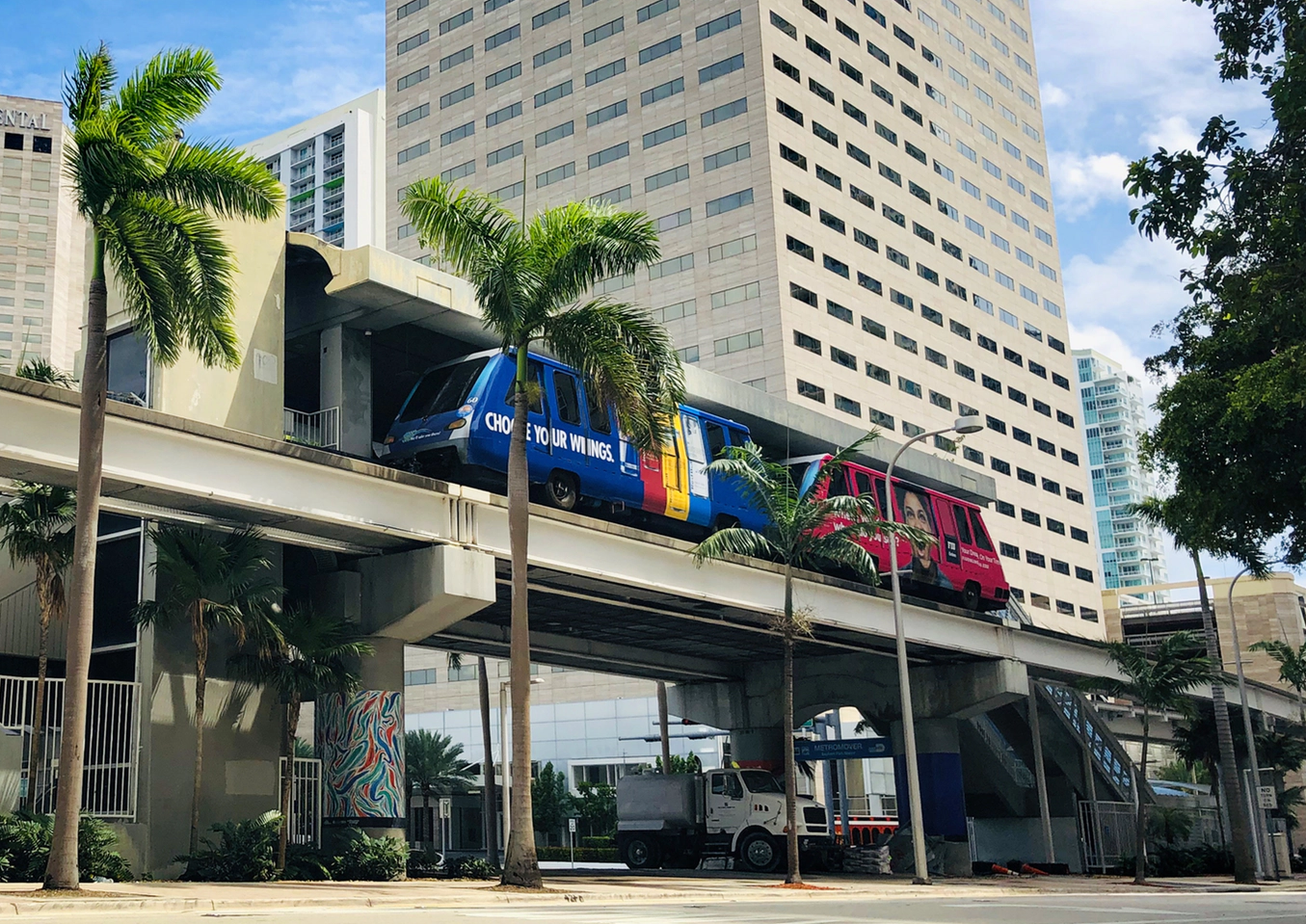 Image result for miami metromover