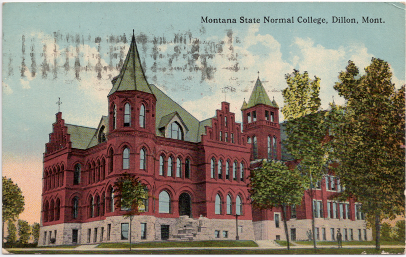 Montana State Normal College, Dillon, Montana Wikipedia ...