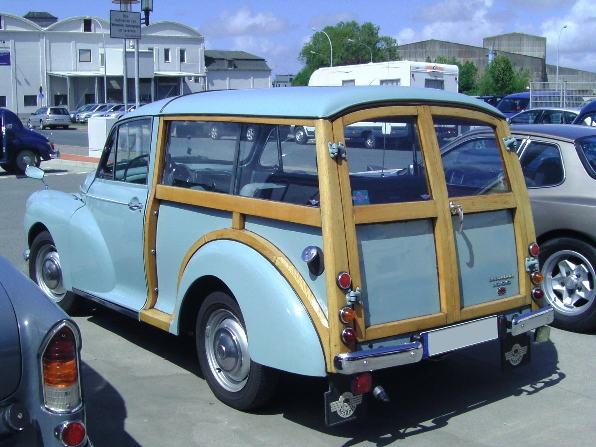 Cars For Under 1000 >> File:Morris Minor 1000 Estate.jpg - Wikimedia Commons
