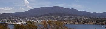 הר ולינגטון - מבט ממזרח