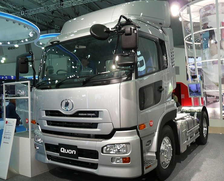 file nissan diesel quon truck wikimedia commons. Black Bedroom Furniture Sets. Home Design Ideas