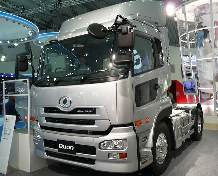 Nissan Diesel Truck >> File Nissan Diesel Quon Truck 2007 Jpg Wikipedia