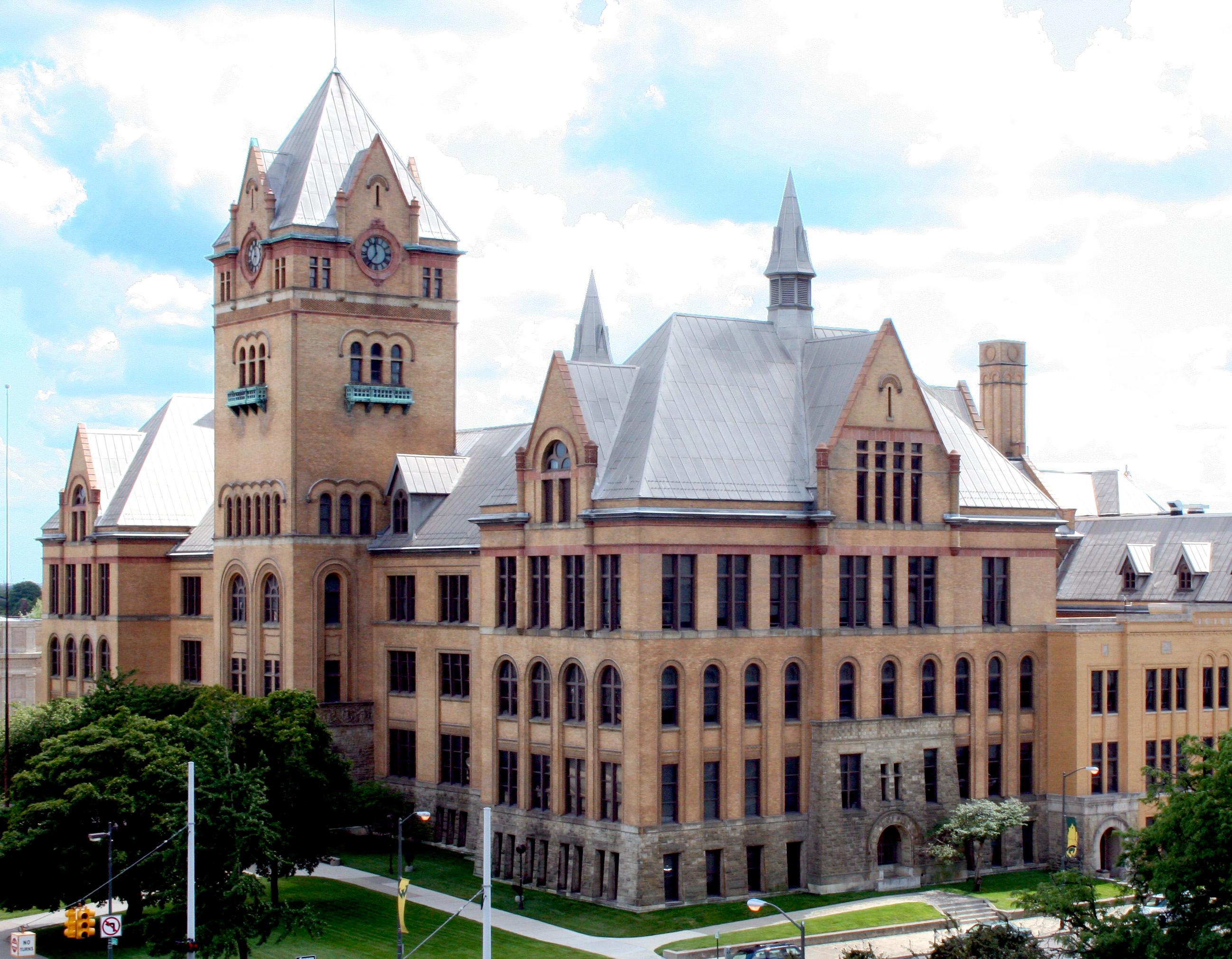 image of Wayne State University