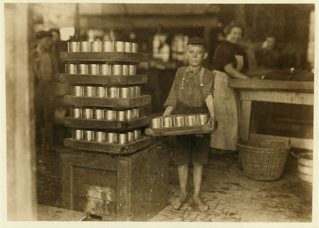 Baltimore, child laborer