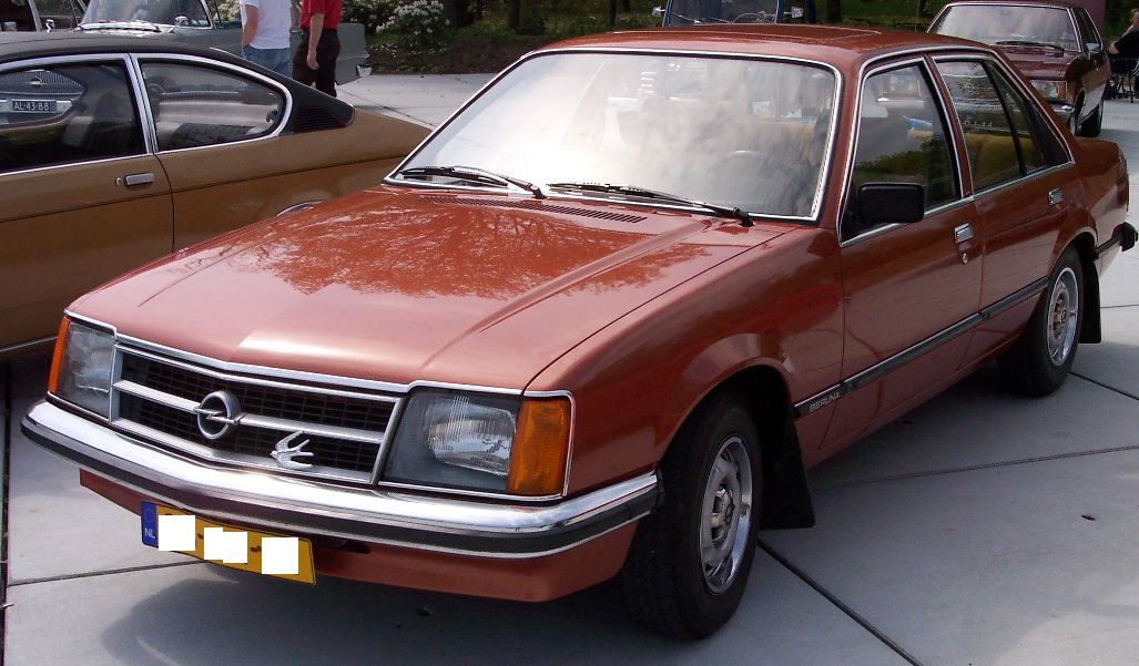 opel commodore form