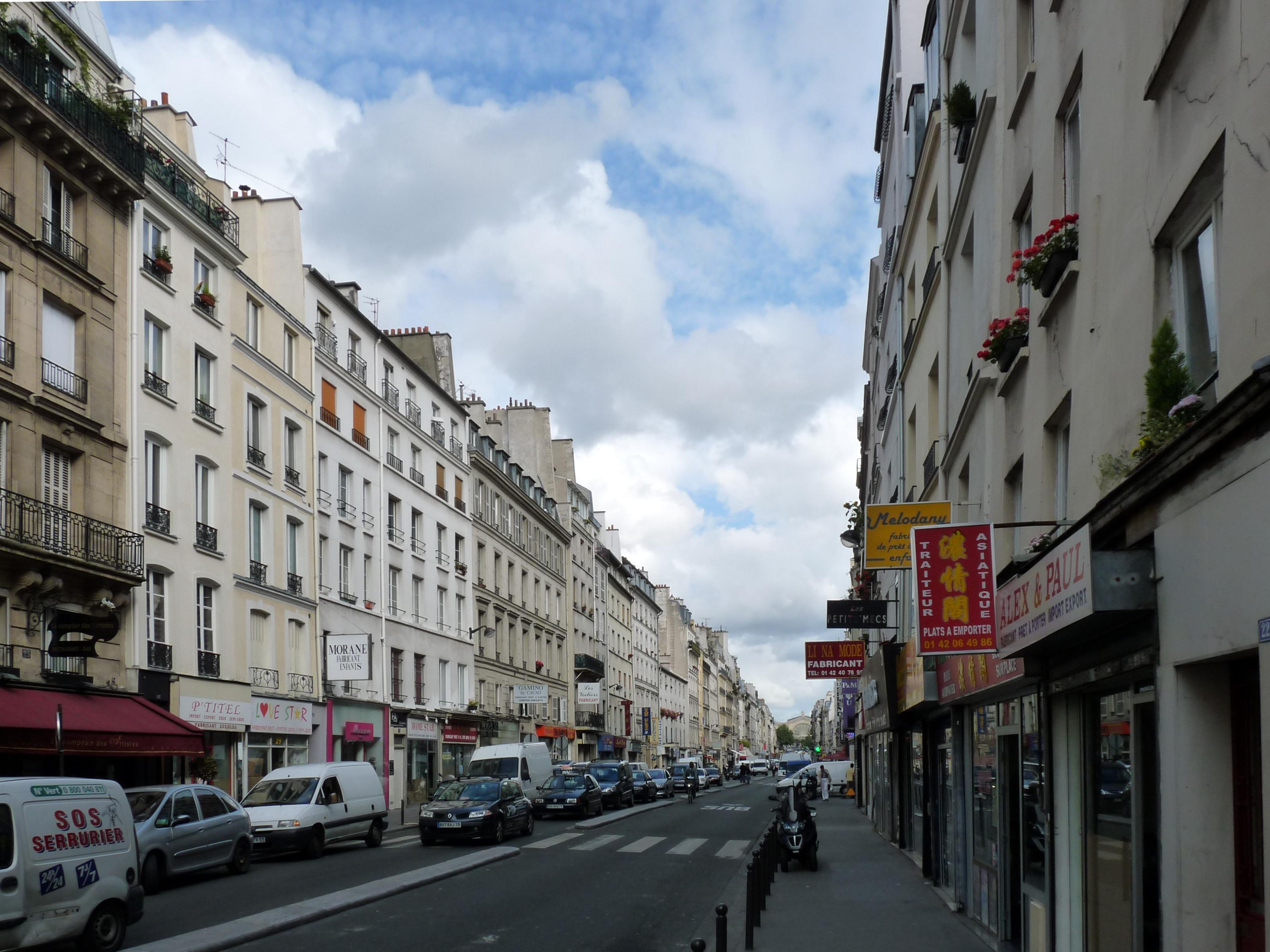 file paris rue du faubourg saint wikimedia. Black Bedroom Furniture Sets. Home Design Ideas