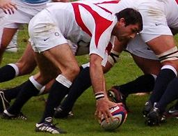 Pat Sanderson English rugby union footballer