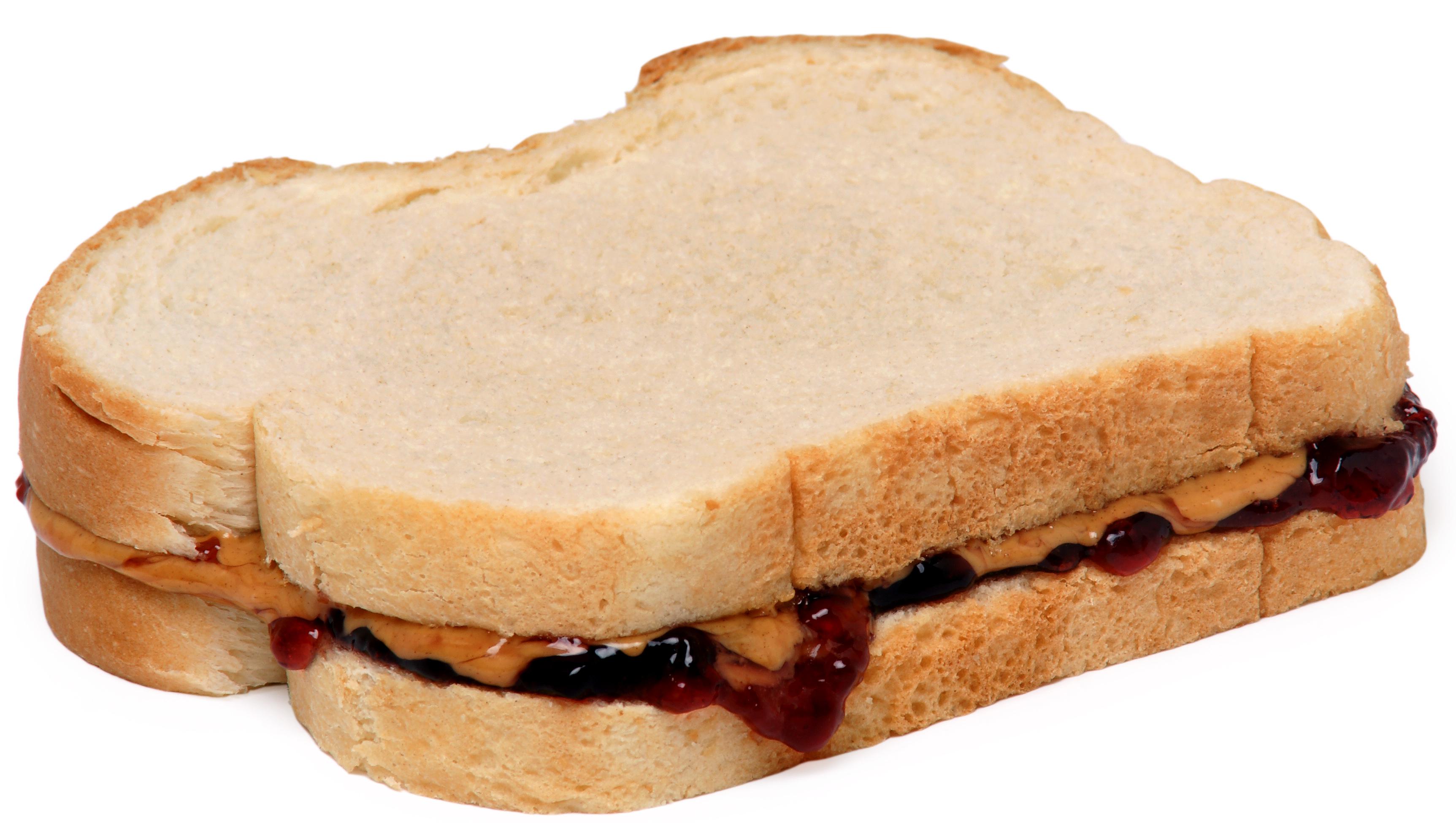 Sandwich De Mantequilla De Cacahuete Y Jalea Wikipedia La