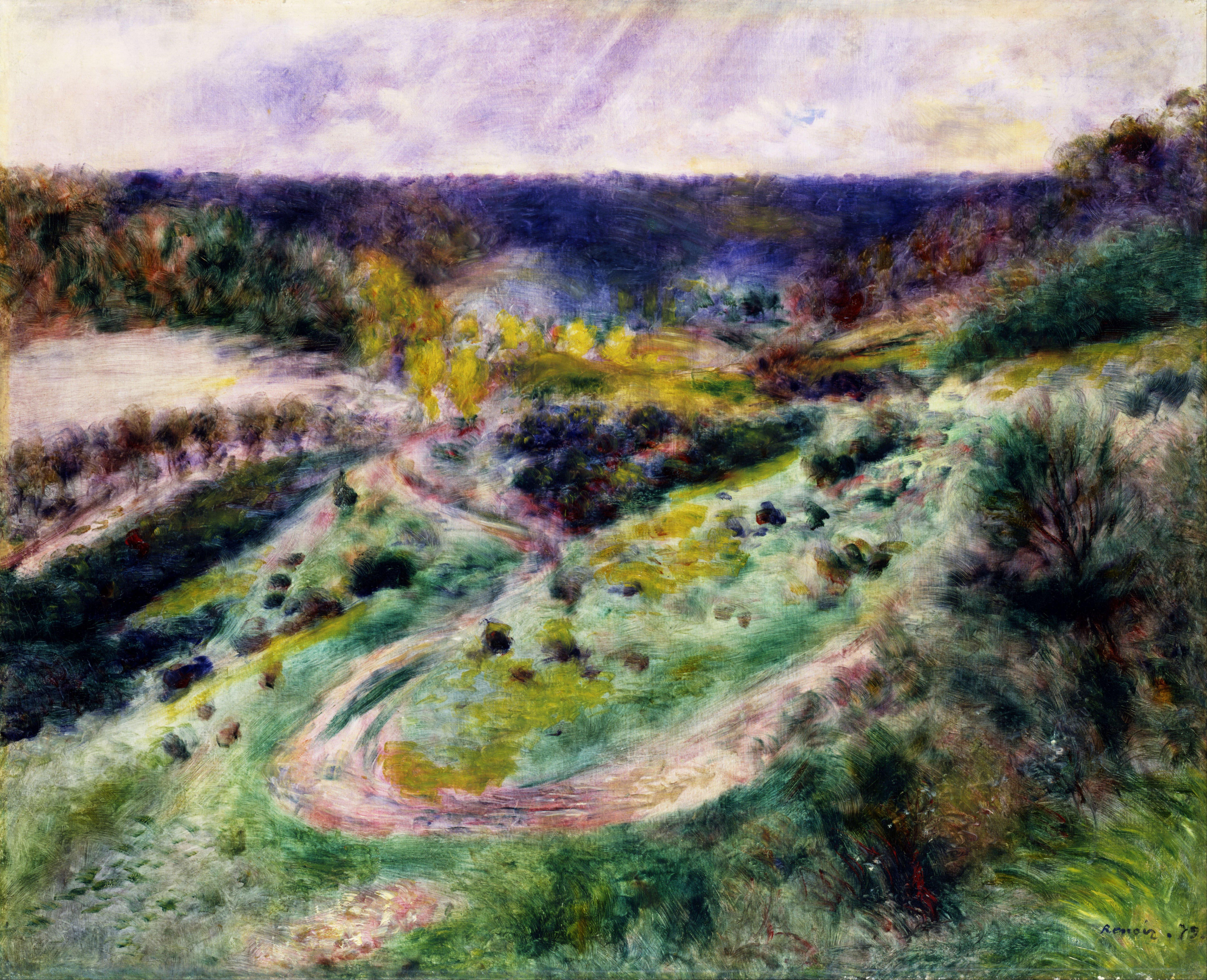 Landscape Oil Paintings Signed I Cafrey