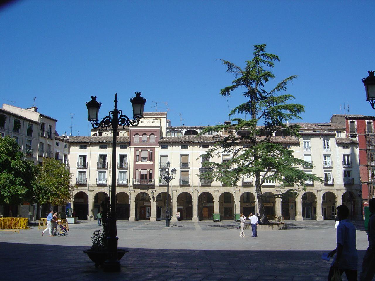 Archivo:Plaza del Mercado en Logroño.jpg - Wikipedia, la ...