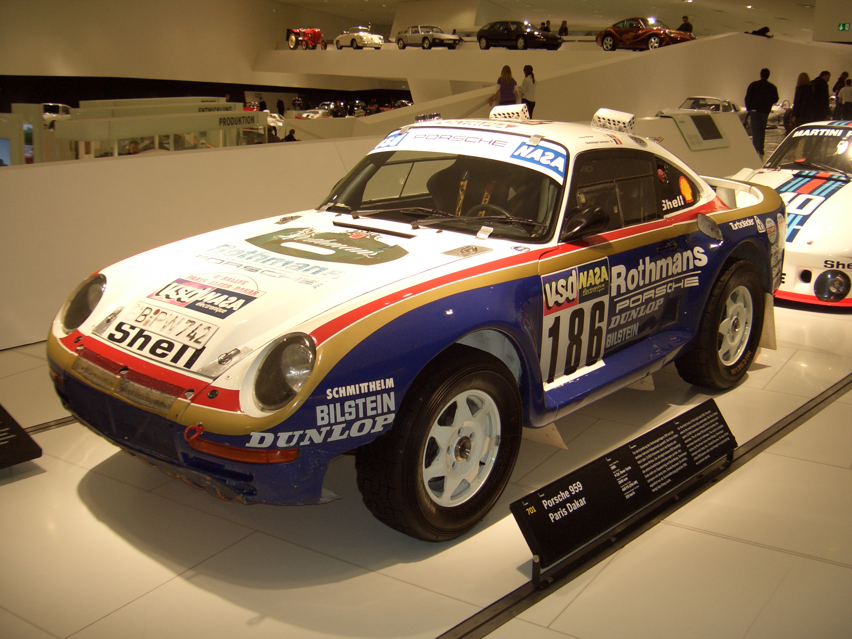 File Porsche 959 Coupe Paris Dakar 1985 Frontleft 2009 03 14 A Jpg Wikimedia Commons