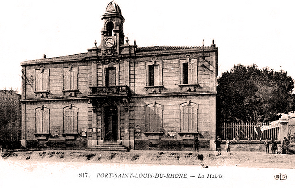 FilePortSaintLouisduRhône Hôtel De Villejpg Wikimedia Commons - Hotel port saint louis du rhone