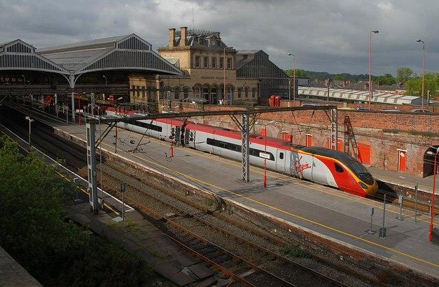 Track Railway Model Train Scene House Station Platform