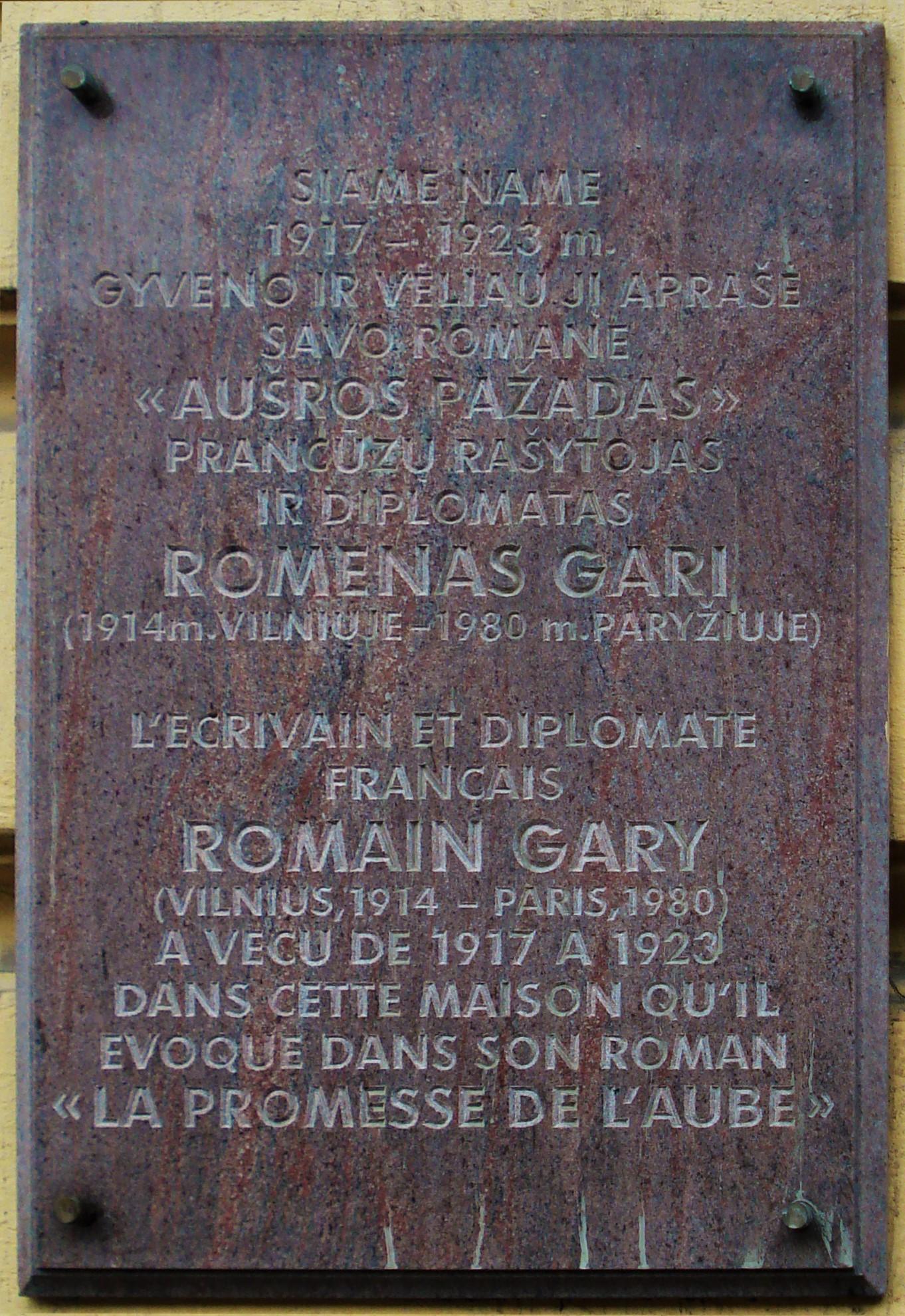 Romain Gary – Wikipedia