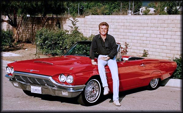 Ron Roy with his 1965 Ford Thunderbird.jpg