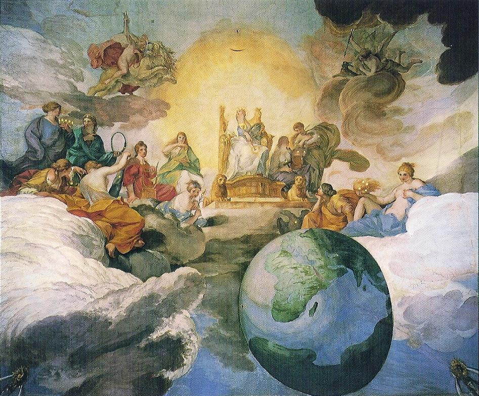 Divine Wisdom Allegory