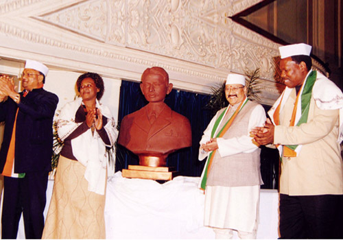 Satpal Maharaj Bust Donation at Africa