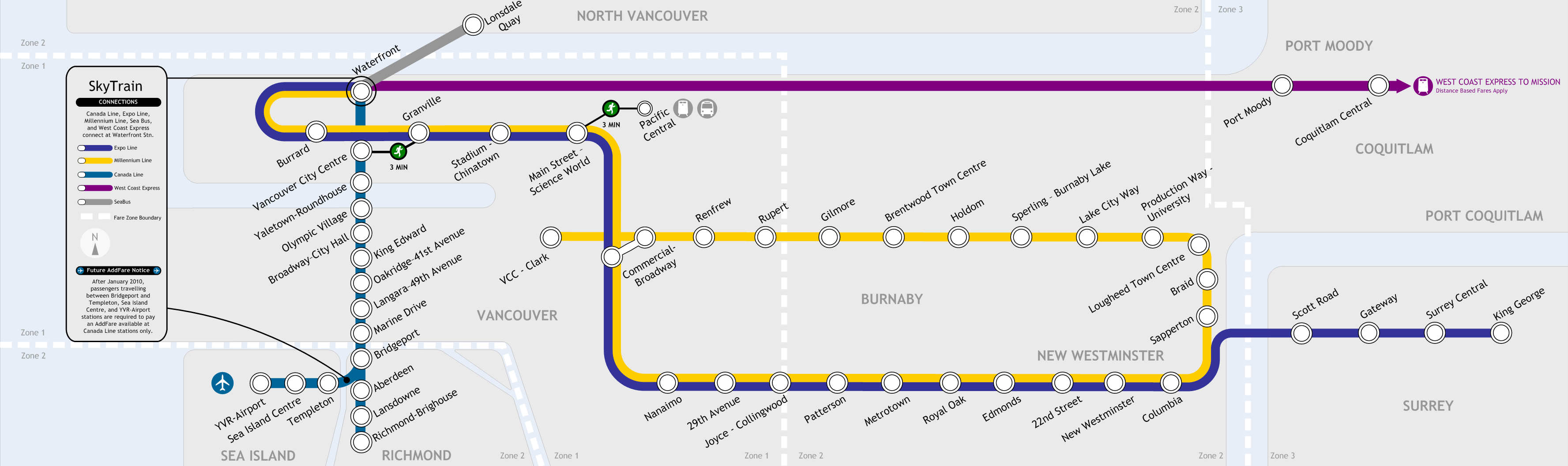 Map Of Canada Line Vancouver.Metro Vancouver Transit Discussion Page 169 Skyscraperpage Forum
