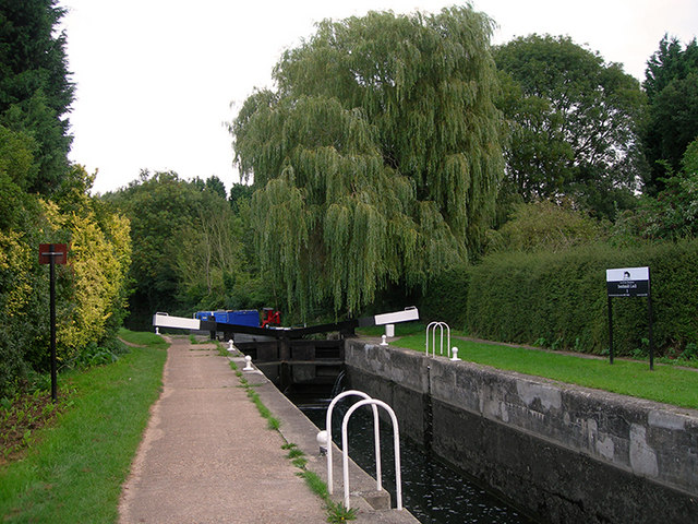 Southmill Lock, River Stort - geograph.org.uk - 234160