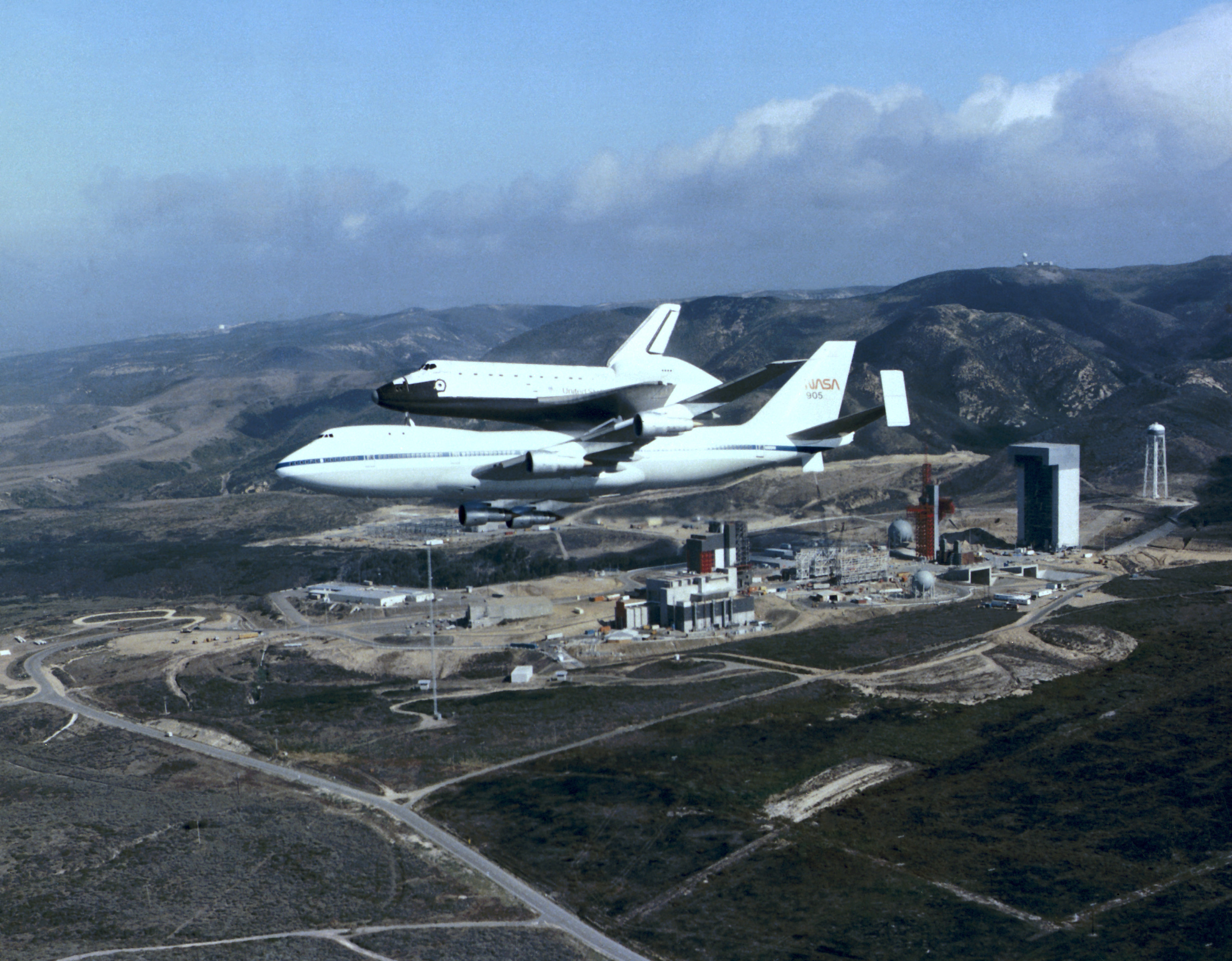 space shuttle at vandenberg - photo #6