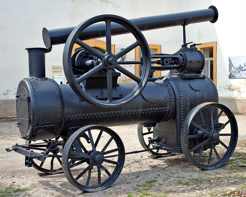 Portable Steam Turbine : Portable engine wikipedia