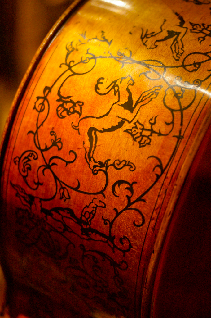 Dettaglio Violino Stradivari