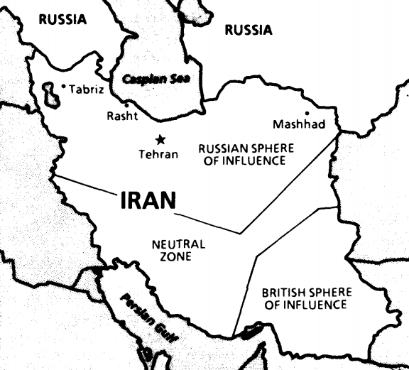 File:The Aanglo-Russian Convention of 1907, settled the partition of Iran.png  - Wikimedia Commons
