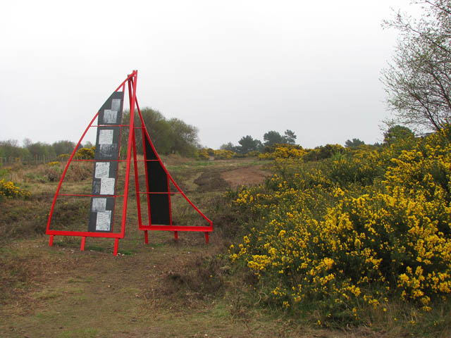 The Salthouse Sculpture Trail - geograph.org.uk - 1249682