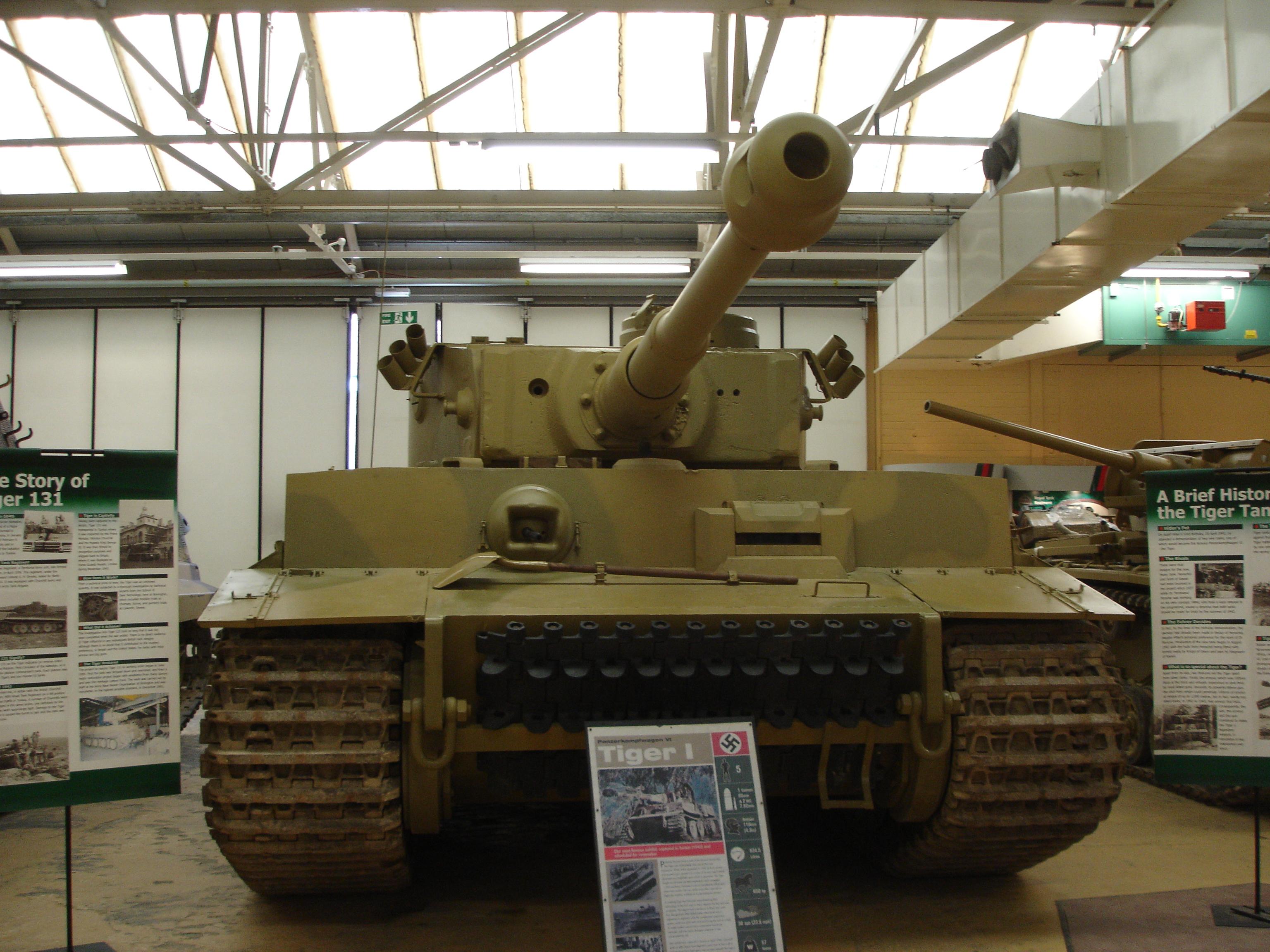 Tiger в экспозиции Бовингтонского музея