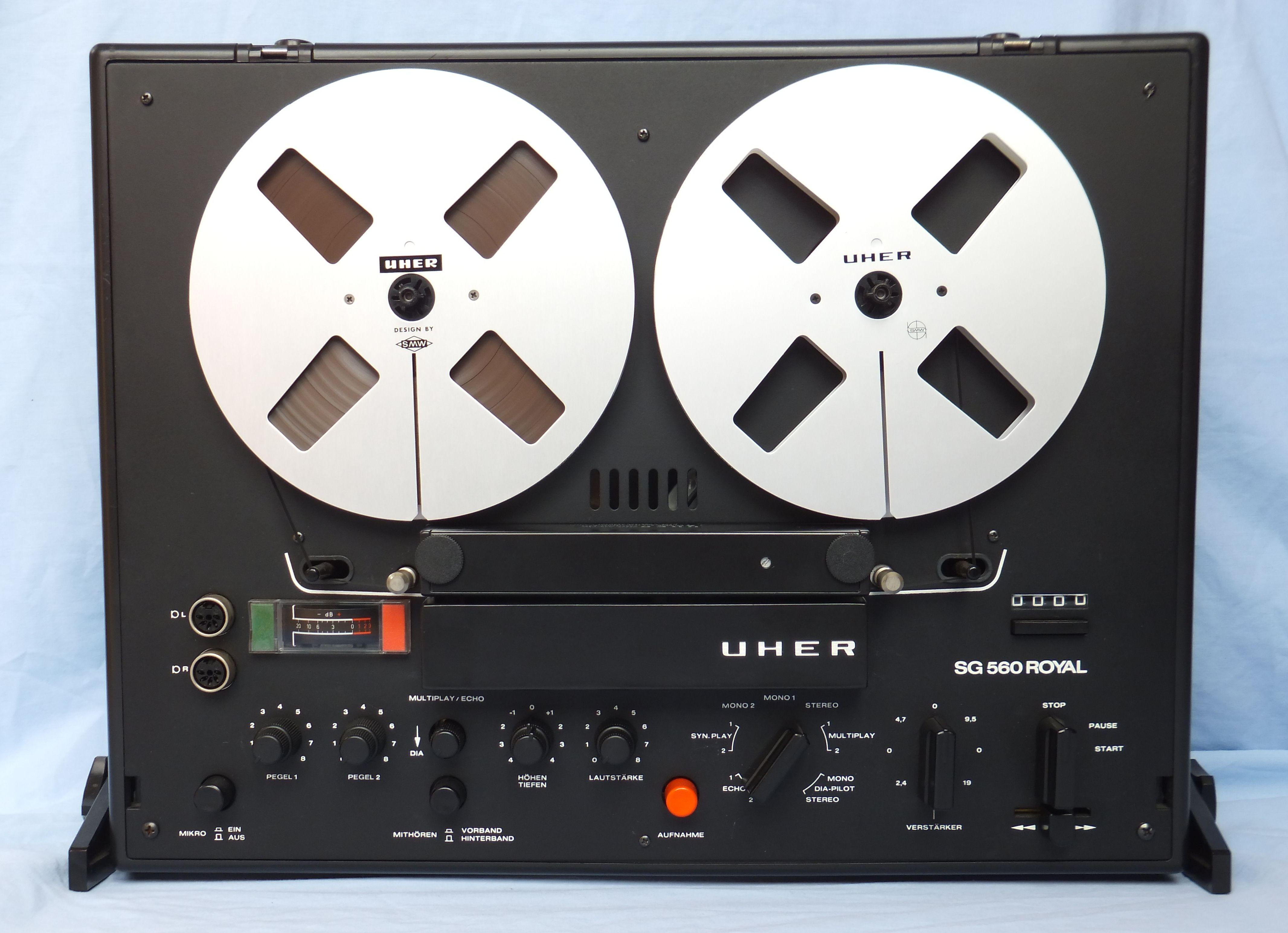 Technics HD310 UHER_SG560_Royal