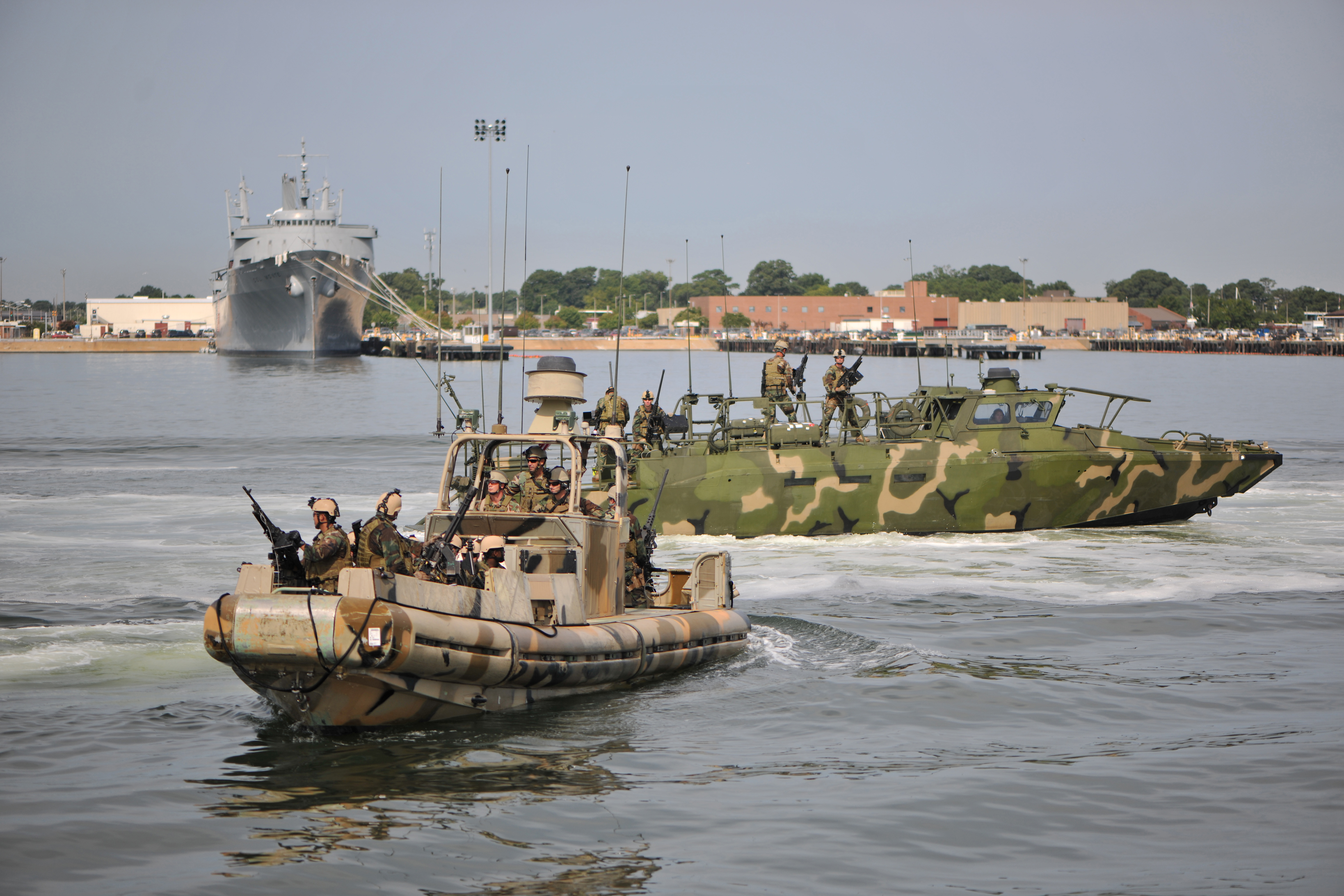 File:US Navy 110818-N-YO394-075 Sailors from Riverine Squadron 1 ...