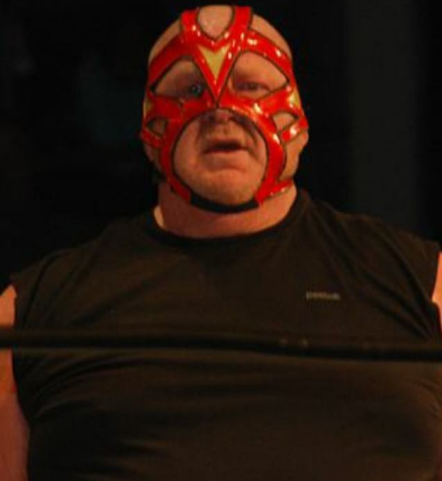 The 63-year old son of father (?) and mother(?) Big Van Vader in 2018 photo. Big Van Vader earned a  million dollar salary - leaving the net worth at 1 million in 2018